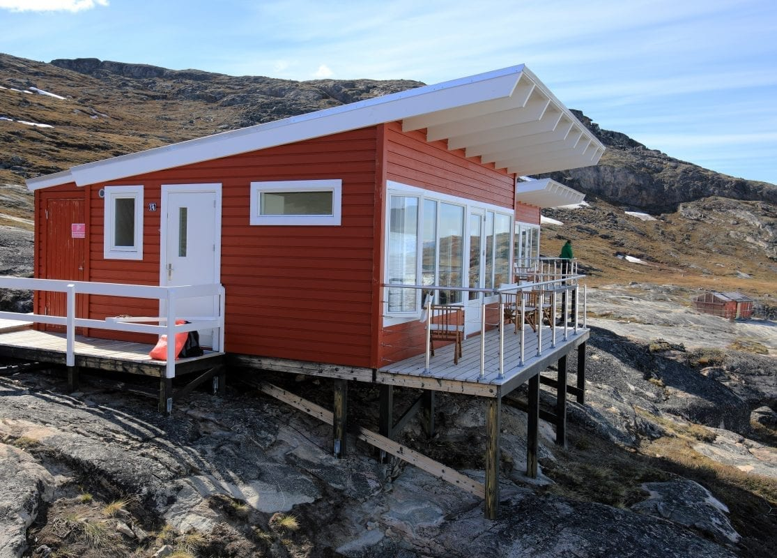 Comfort cabins at Glacier Lodge Eqi - Photographer: Greenland Travel